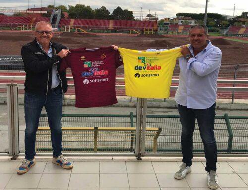 Sponsorizzazione per Anno 20/21 prima squadra Pontedera Calcio.